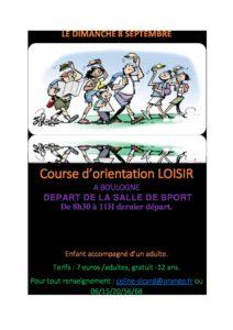 Course d'orientation @ Boulogne