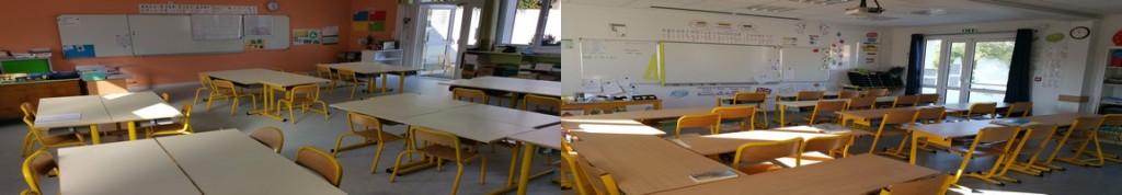Classes d'Emilie (CE1/CE2) et de Valentin (CE2/CM1)