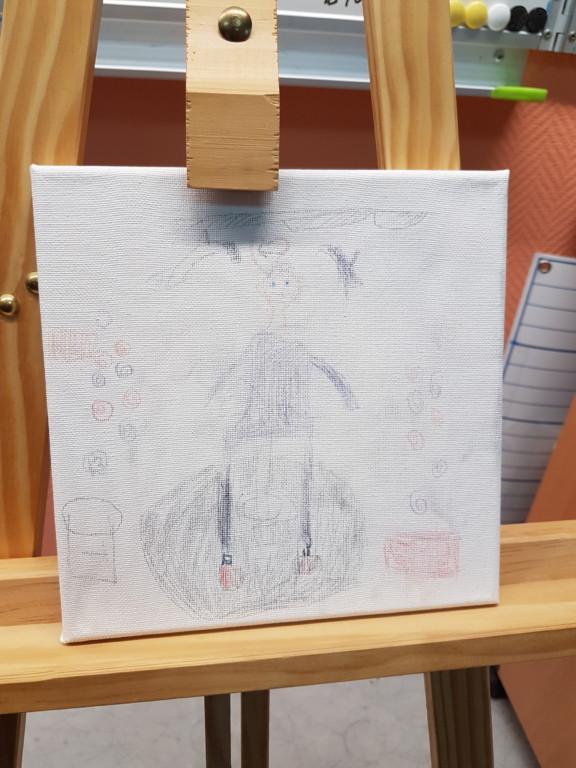 Mon incroyable talent: Timy aime peindre